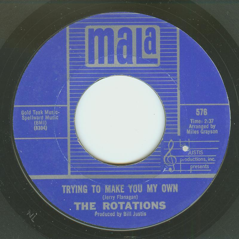 Rotations - Trying To Make You My Own / Misty Roses