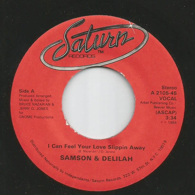 Samson & Delilah - I Can Feel Your Love Slippin Away / Instrumental