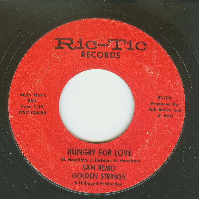 San Remo Golden Strings - Hungry For Love / All Turned On