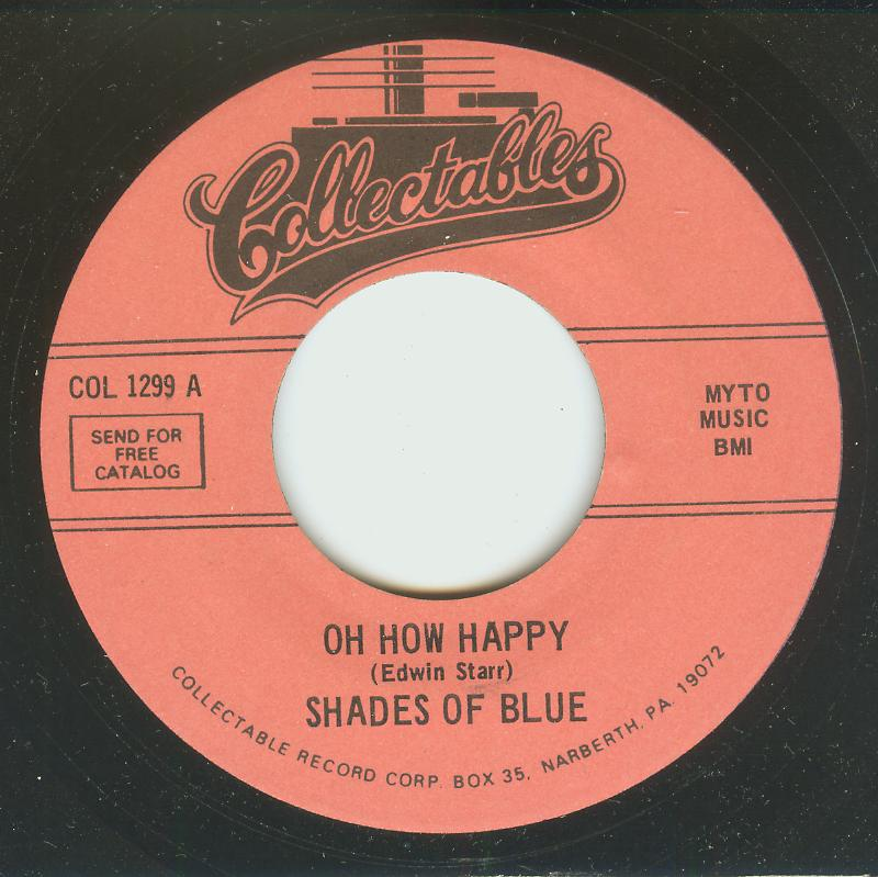 Shades Of Blue - Oh How Happy / Little Orphan Boy