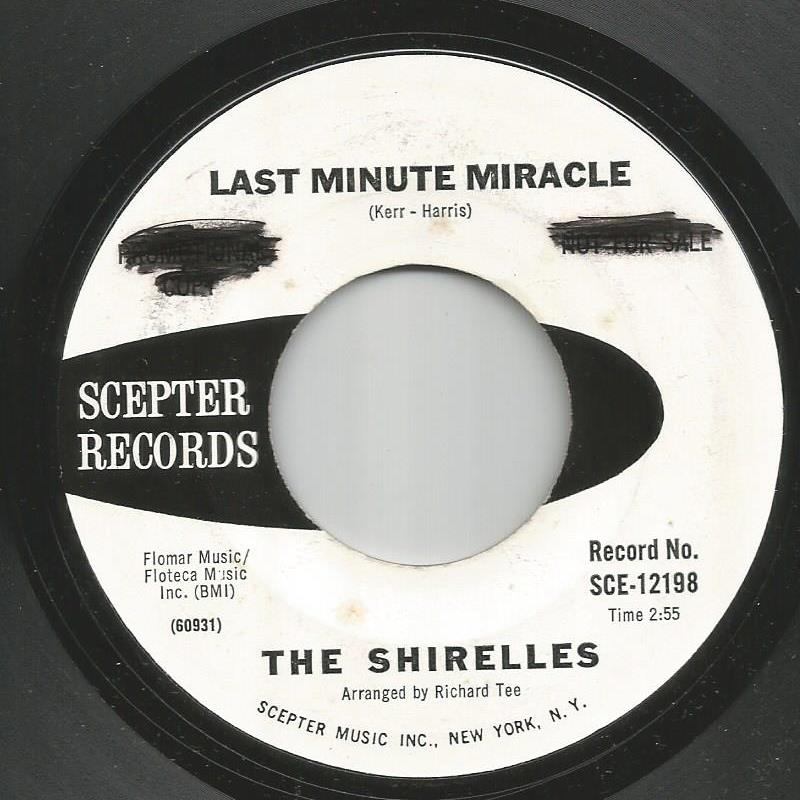 Shirelles - Last Minute Miracle / No Doubt About It