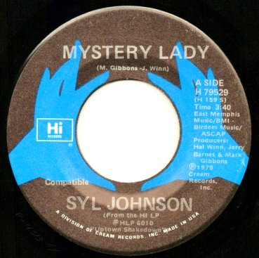 Syl Johnson - Mystery Lady / Let's Dance For Love