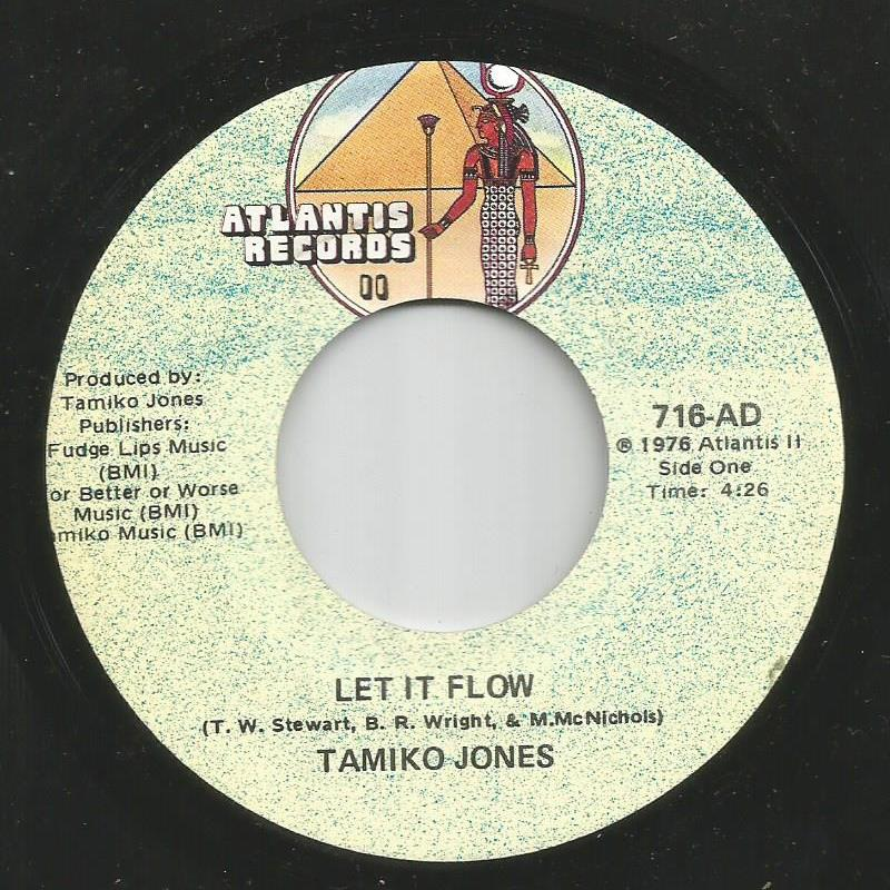 Tamiko Jones - Let It Flow / Cloudy