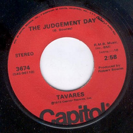 Tavares - The Judgement Day / Check It Out