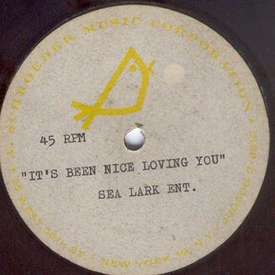 Unknown Artist - It's Been Nice Loving You / Blank