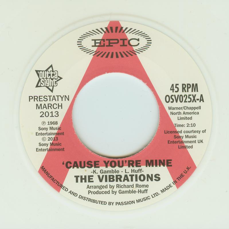 Vibrations - 'Cause You're Mine / Follow Your Heart