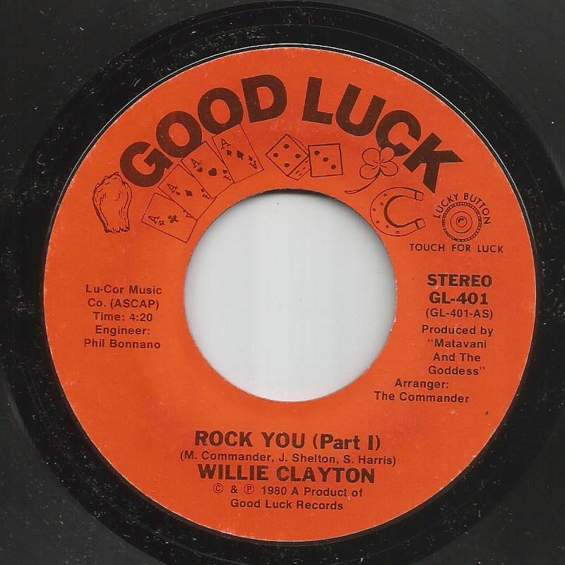 Willie Clayton - Rock You (Part 1) / Rock You (Part 2)